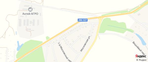 Московская улица на карте Тарусы с номерами домов