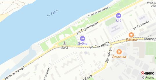 Московская улица в Дубне с номерами домов на карте. Спутник и схема онлайн