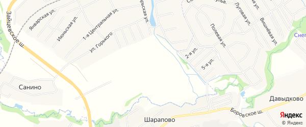 Квартал 36 на карте поселения Кокошкино с номерами домов