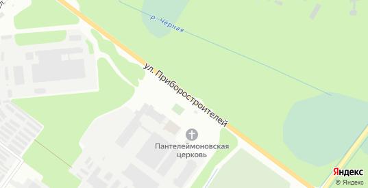 Улица Приборостроителей в Дубне с номерами домов на карте. Спутник и схема онлайн