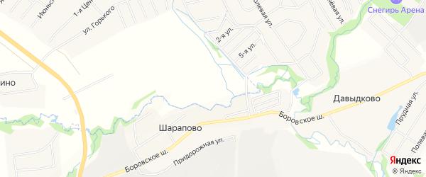 Квартал 35 на карте поселения Кокошкино с номерами домов