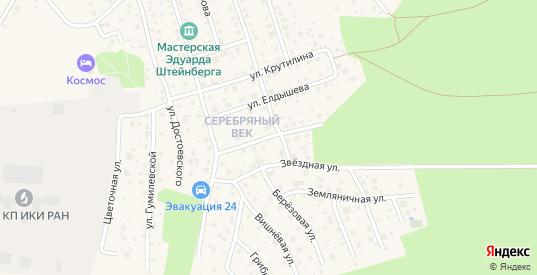 Березовый переулок в Тарусе с номерами домов на карте. Спутник и схема онлайн