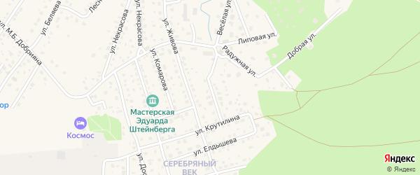 Улица Маяковского на карте Тарусы с номерами домов