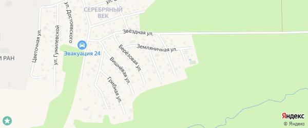 Песочная улица на карте Тарусы с номерами домов