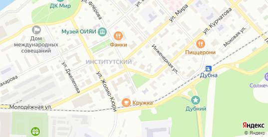 Площадь Мира в Дубне с номерами домов на карте. Спутник и схема онлайн