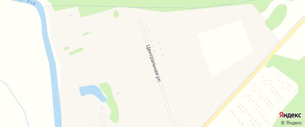 Центральная улица на карте поселка Свободы Тульской области с номерами домов