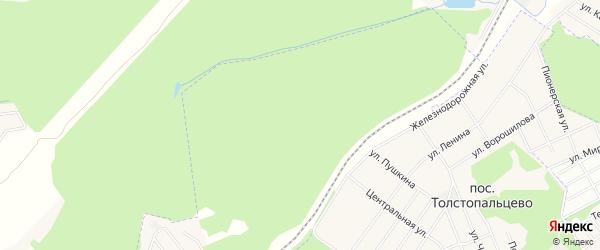 Квартал 1 на карте поселения Кокошкино с номерами домов
