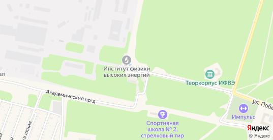 Площадь Науки в Протвино с номерами домов на карте. Спутник и схема онлайн
