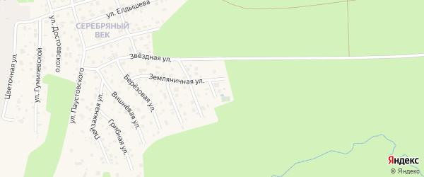 Крайняя улица на карте Тарусы с номерами домов