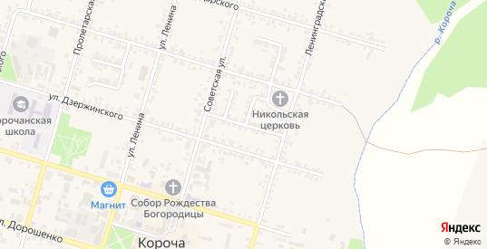 Улица Жарикова в Короче с номерами домов на карте. Спутник и схема онлайн