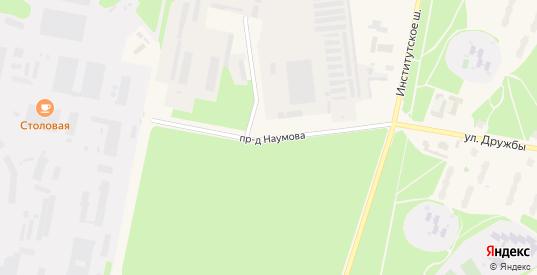 Проезд Наумова в Протвино с номерами домов на карте. Спутник и схема онлайн