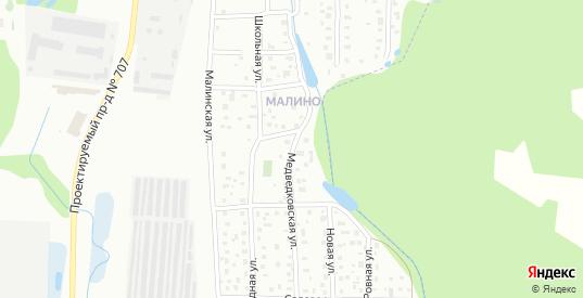 Медведковская улица в Зеленограде с номерами домов на карте. Спутник и схема онлайн