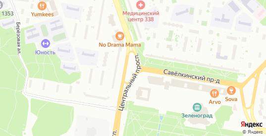 Лесная 2-я улица в Зеленограде с номерами домов на карте. Спутник и схема онлайн