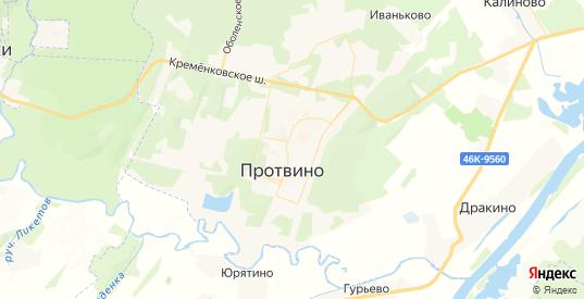 Карта Протвино с улицами и домами подробная. Показать со спутника номера домов онлайн