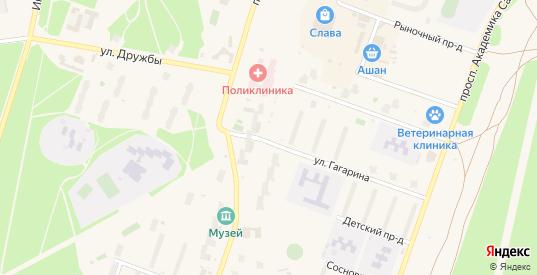 Покровский проезд в Протвино с номерами домов на карте. Спутник и схема онлайн