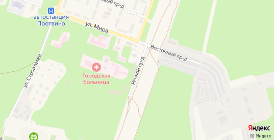 Речной проезд в Протвино с номерами домов на карте. Спутник и схема онлайн