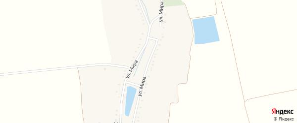 Улица Мира на карте хутора Калинина с номерами домов