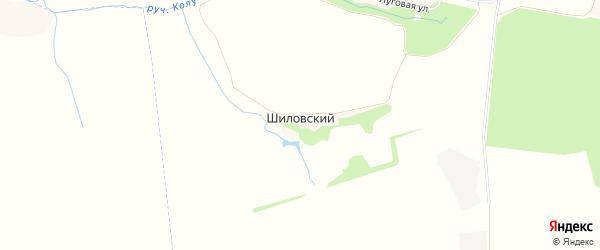 Карта Шиловского поселка в Орловской области с улицами и номерами домов