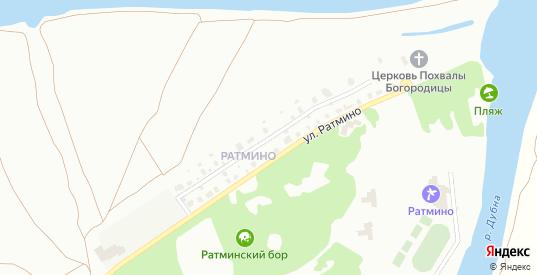 Улица Нижнее Ратмино в Дубне с номерами домов на карте. Спутник и схема онлайн