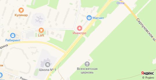 Проспект Академика Сахарова в Протвино с номерами домов на карте. Спутник и схема онлайн
