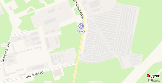 Гаражный проезд в Протвино с номерами домов на карте. Спутник и схема онлайн