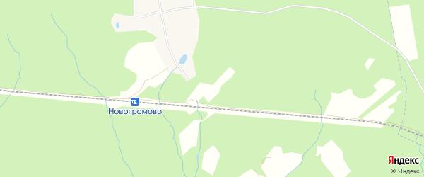Квартал 254 на карте Вороновского поселения с номерами домов