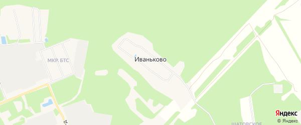 Карта деревни Иваньково в Московской области с улицами и номерами домов