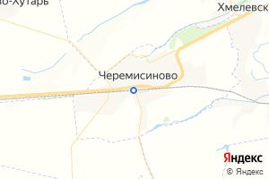Карта пос. Черемисиново Курская область