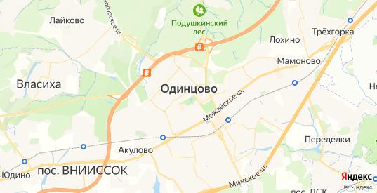 Карта Одинцово с улицами и домами подробная. Показать со спутника номера домов онлайн