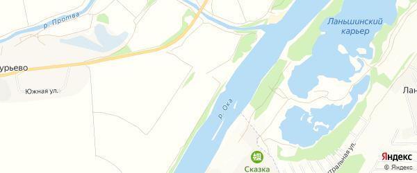 Карта деревни Парсуковский карьера в Калужской области с улицами и номерами домов