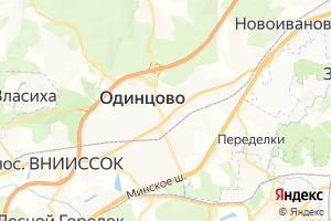 Карта г. Одинцово Московская область
