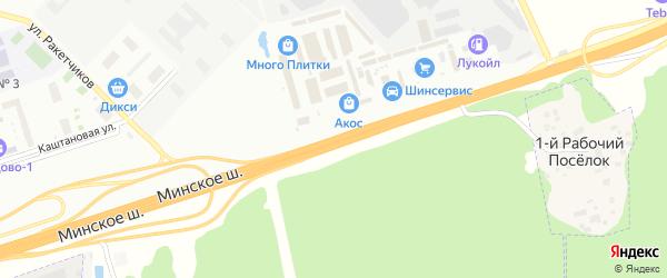Территория Можайское шоссе 26 км на карте Одинцово с номерами домов