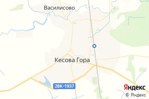 Карта пос. Кесова Гора Тверская область