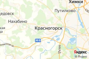 Карта г. Красногорск Московская область