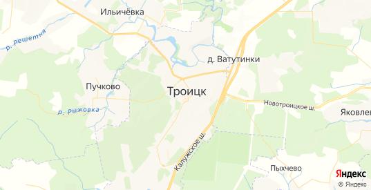 Карта Троицка с улицами и домами подробная. Показать со спутника номера домов онлайн