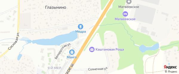 Территория Можайское шоссе 24 км на карте Одинцово с номерами домов