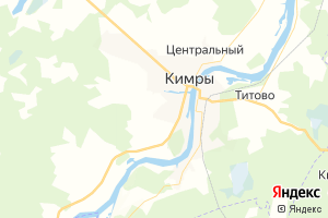 Карта г. Кимры