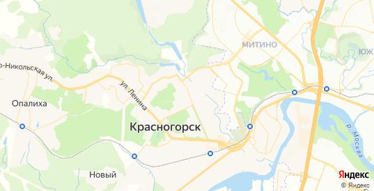 Карта Красногорска с улицами и домами подробная. Показать со спутника номера домов онлайн