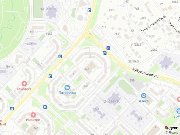 Маршрут автобуса 343 на карте Москвы