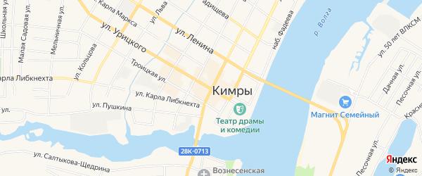 ГСК Овощехранилище 57 на карте Кимр с номерами домов