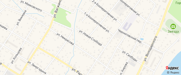 Улица Слобода Н. на карте Кимр с номерами домов
