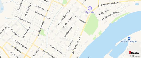 ГСК Овощехранилище 12 на карте Кимр с номерами домов