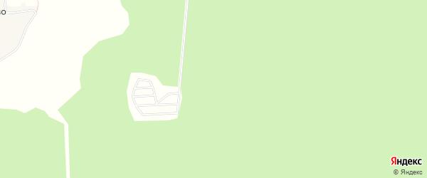 Территория днп Березовая роща на карте Чеховского района Московской области с номерами домов