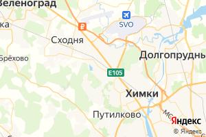 Карта г. Химки Московская область