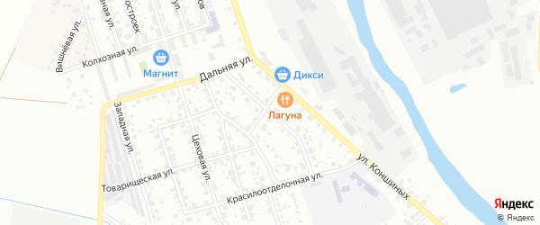 Большая Катанинная улица на карте Серпухова с номерами домов