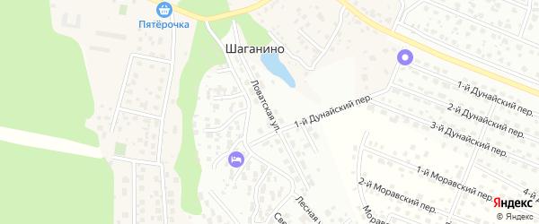 Ловатская улица на карте Щаповского поселения с номерами домов