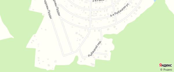 Рыбацкий переулок на карте Щаповского поселения с номерами домов