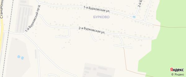 3-я Бурковская улица на карте Кимр с номерами домов