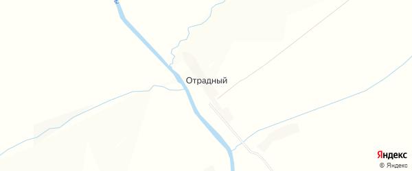 Карта Отрадного поселка в Орловской области с улицами и номерами домов