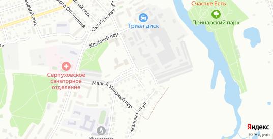 Улица Деревенька в Серпухове с номерами домов на карте. Спутник и схема онлайн